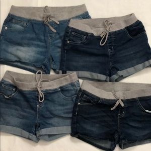 Lot of 4 Justice Shorts Size 16